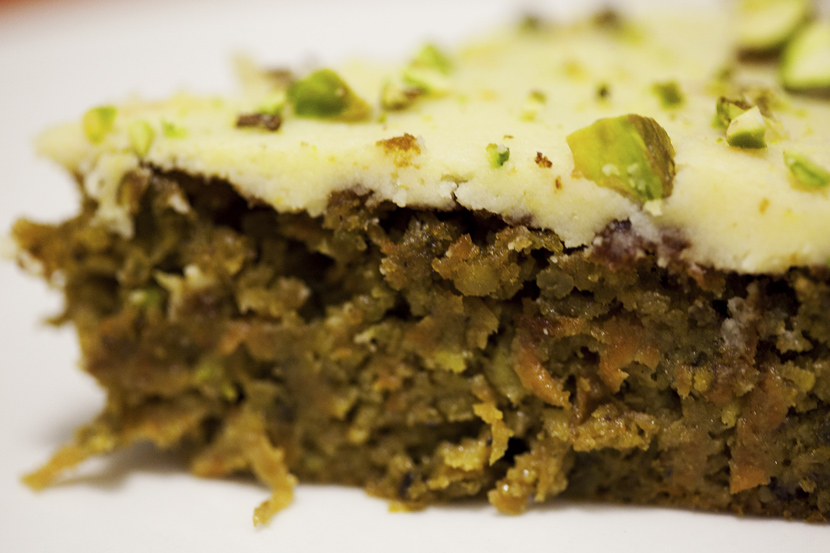 ... cake with i almost added coconut in the carrot pistachio and coconut