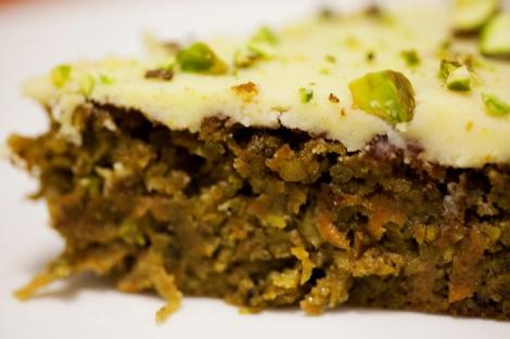 orange pistachio cake